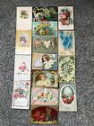Lot of 15 Vintage Postcards Birthday Congratulations Best Wishes