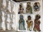 Home Interiors HOMCO Porcelain African American Nativity Set 57076
