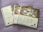Set of two New CREATIVE MEMORIES 12 x 12 White Scrapbook Pages w protectors