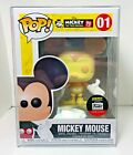 Funko Pop! Up Shop Disney Exclusive Peaches & Cream Mickey Mouse #01 w Protector