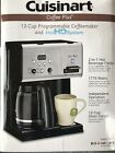 Cuisinart CHW 12 Coffee Plus 12 Cup Programmable Coffee Maker  Hot H20 System