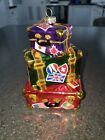Rare 2012 Sparkle Bright Christopher Radko Xmas Ornament Vacation Travel Trunks