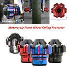 Universal Motorcycle CNC Front Wheel Frame Slider Falling Crash Protector Cup 1x