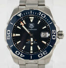 Tag Heuer WAY211C-0 Tag Heuer Aquaracer Calibre 5 Stainless Steel 41mm Watch