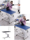 Pet Dog Hydraulic Lift Grooming Table Non slip Square Desktop Steel Structure