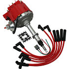 New Premium HEI Ignition Distributor With Plug Wires For Jeep AMC V6 232 258 CJ