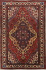 Grand Collectible Antique Floral 4x6 Wool Bakhtiari Oriental Area Rug