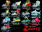 HOT WHEELS REDLINES ZOWEES 13 CARS ART PRINT COLLECT THEM ALL