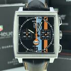 TAG Heuer Monaco Gulf Limited Edition Chronograph CW211A Box & Papers