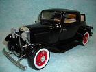1 18 SCALE DIECAST 1932 FORD 3 WINDOW COUPE IN BLACK BY ROAD LEGENDS