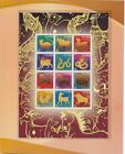 THAILAND 2003 to 2014 ZODIAC complete set of 12 years special gold foil print