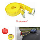 Heavy Duty 5 Tons 5m Nylon Car Van Tow Rope Hook Road Recovery Pull Towing Strap