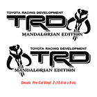 Toyota Trd Mandalorian Edition Off Road Tacoma Tundra Sticker Decal Vinyl Decals