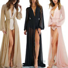 Women Summer Chiffon Bikini Cover Up Swimwear Bathing Suit Beach Dress Long Maxi