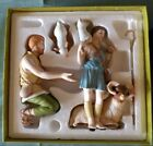 1991 Lenox Renaissance Nativity The Sheperds w original box  packaging
