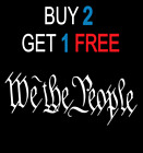We The People Decal Car Truck Funny Sticker Bumper Jeep Vinyl 3m Pack 2nd Usa 3m