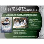 2019 Topps Tribute Baseball Sealed Hobby Box Presell 8 7 19 Release 3 Autos