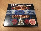 Five Wicked Ways Rare CD By Candy Harlots Limited Edition Digipak + 5 Stickers
