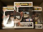 Funko Pop! Set of 3 Exclusive CRASH BANDICOOT Pops #273, #274 and #275, New