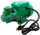 1 2HP CENTRIFUGAL CLEAN CLEAR WATER PUMP ELECTRIC INDUSTRIAL FARM POOL POND PUMP