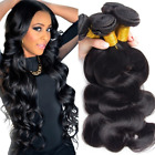 HOT Brazilian Body Wave Virgin Hair Weft 3 Bundles Human Hair Weave Extensions