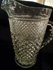 Anchor Hocking Wexford Vintage Clear glass 64 oz Pitcher~ Sparkling Condition~
