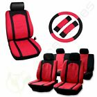 Black Gray Red Car Seat Covers For 2003 2004 Toyota Rav4 Camry Corolla Prius