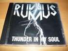RUKKUS - Thunder In My Soul 1994 Extremely Rare US Melodic Hard Rock Indie!