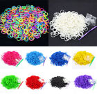600X Girl Rubber Ropes Mini Small Elastic Bands Hair Accessories Colorful Beauty