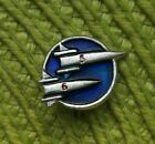 1962 Soviet Union Russian space pin badge Cosmic Ship Vostok East 5 and East 6