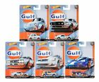 HOT WHEELS 2019 CAR CULTURE GULF RACING SET OF 5 FPY86 956G IN STOCK