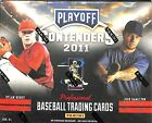 2011 Playoff Contenders Baseball Sealed Hobby Box