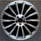Mercedes Benz S Class Compatible Replica Machined w Charcoal 20 inch Wheel 2014