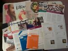 Weight Watchers Lot of 13 weight loss pamphlets and Recipes
