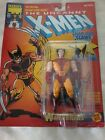 1991 Marvel The Uncanny X Men WOLVERINE w snap out claws and trading card