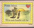 Winnie the Pooh Piglet POOH MAIL Its So Much Friendlier with Two Rubber Stamp