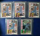 1984 Topps PETE ROSE (5 Different) Tiffany Nestle O-Pee-Chee Traded AMAZING LOT!