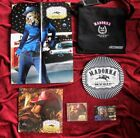 Madonna MUSIC Reebok PROMO MONOGRAM MESSENGER BAG, Sealed Vinyl, Slipmat, CD LOT