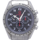 Auth Omega Black Dial Speedmaster Broad Arrow 42mm Men's Watch 3558.50 (DH45744)