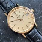 OMEGA Men's Gold-Plated Seamaster cal.1022 Automatic w/Date, c.1960s Swiss LV642