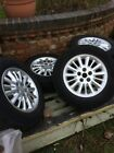 Chrysler Voyager alloy wheels x 4 good condition