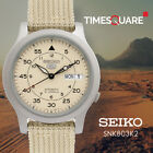 Seiko Analog casual 5 Automatic Brown Mens SNK803K2