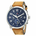 Tommy Hilfiger Analog Casual Briggs Multi-Function Brown Mens 1791424