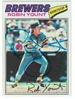 Robin Yount Cards, Rookie Cards and Autographed Memorabilia Guide 42