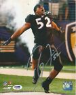 Ray Lewis Rookie Cards and Autograph Memorabilia Guide 31