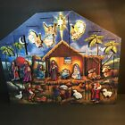 Nativity Advent Calendar Box Wooden Traditions by Byers Choice