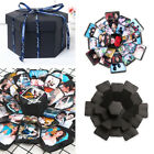 DIY Surprise Explosion Box Memory Scrapbook Photo Album Kits Anniversary Gift US