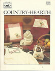Country Hearth 1983 Counted Cross Stitch Jean Farish Pattern Book 12 Christmas