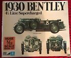 Vintage MPC 1930 Bentley 4 1/2 Litre Supercharged 1:12 Scale Model Car