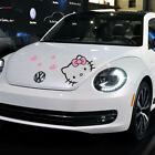 Hello Kitty Cartoon Car Hood Doors Decal Sticker Body Decoration Cover Scratches